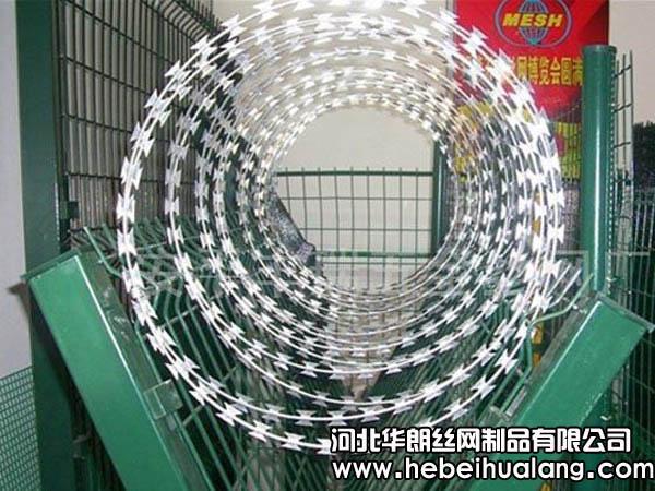 刀片刺绳护栏网